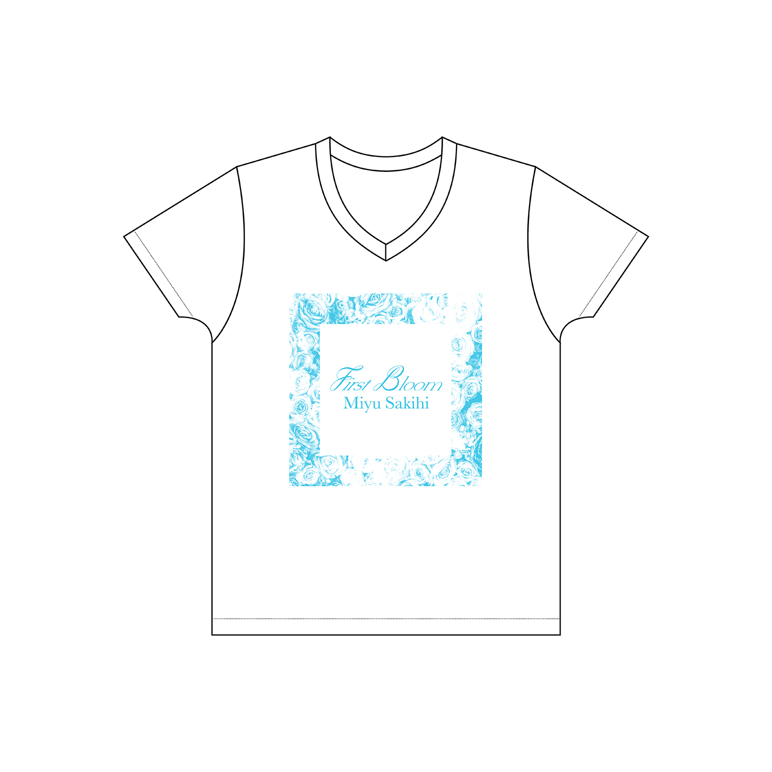 """First Bloom""Tシャツ"